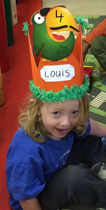 Louis is 4!!