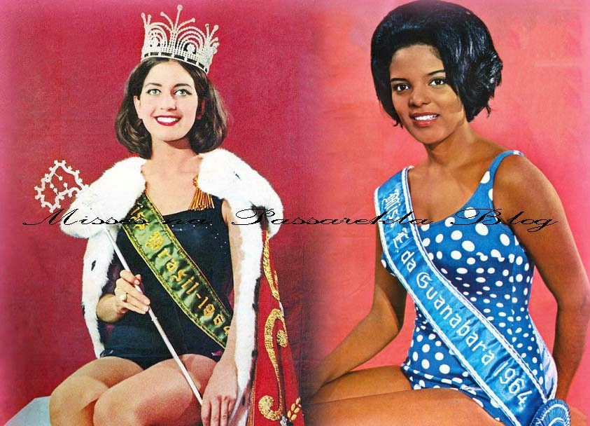 ##### 50 ANOS DA ELEIÇÃO DAS MISSES BRASIL UNIVERSO  E INTERNACIONAL 1964 ######