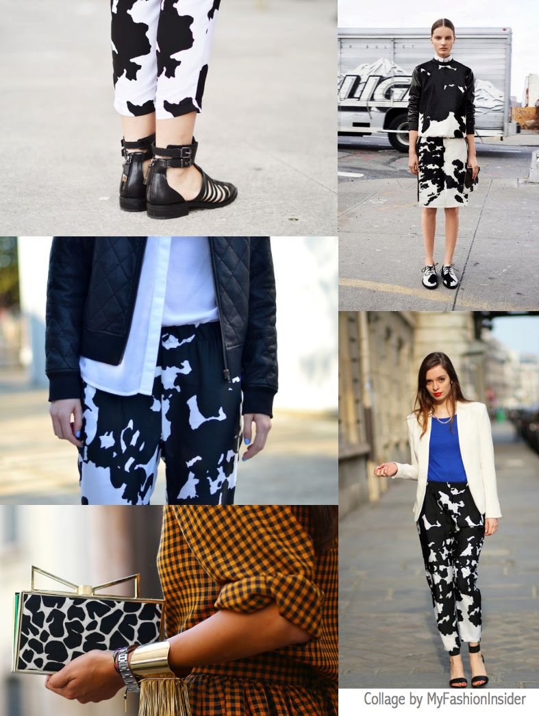 cow print spring 2013 givenchy trends