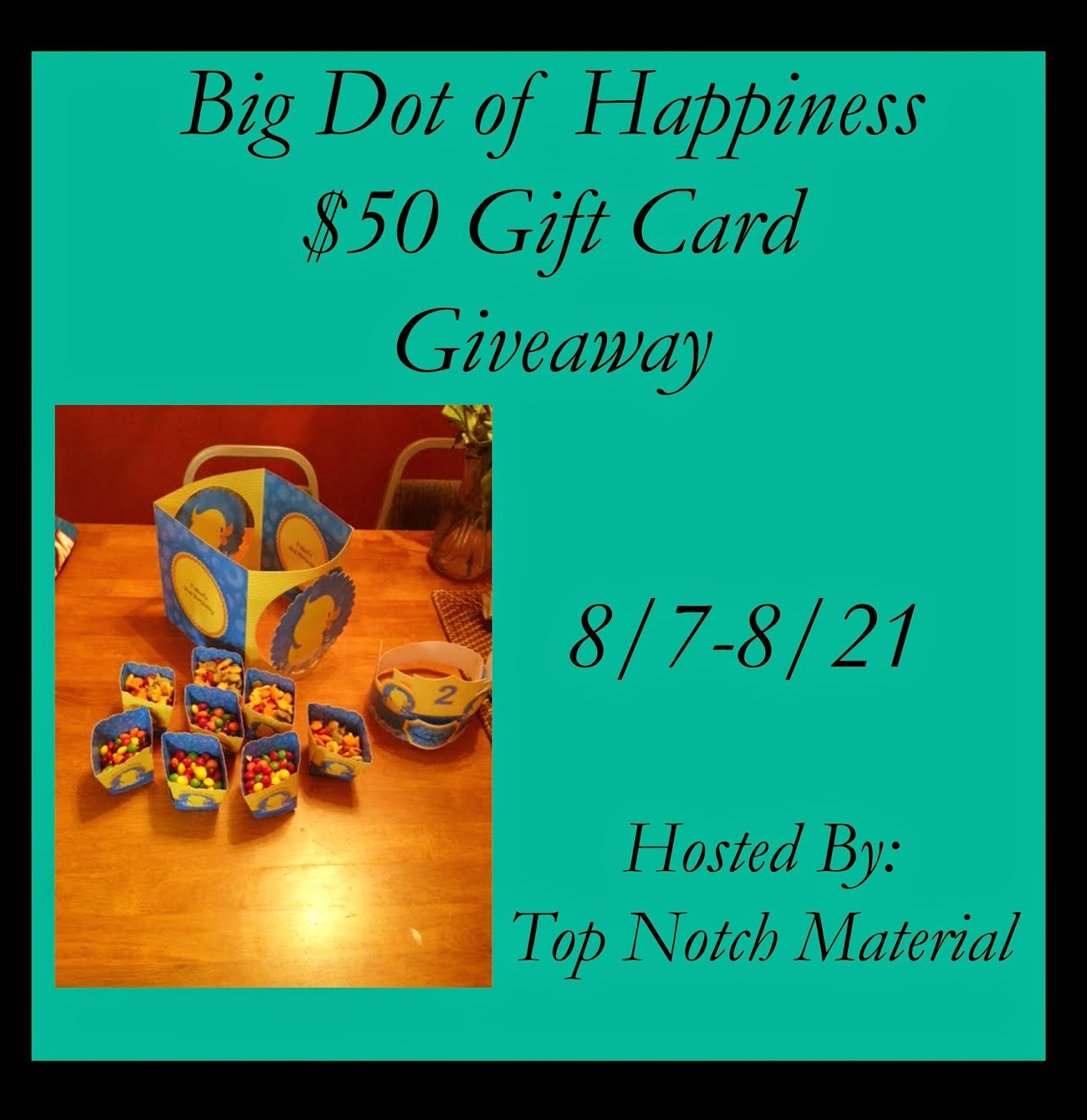 Big Dot of Happiness Giveaway