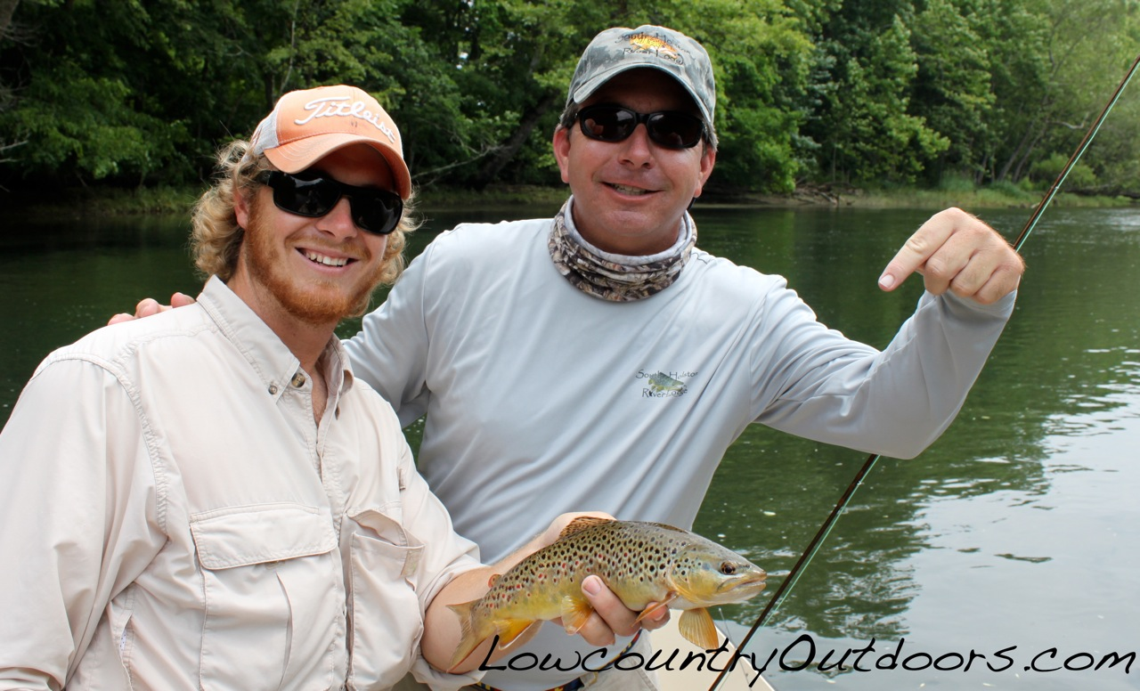Lowcountry Outdoors Fly Fishing For Trout With South