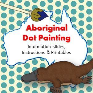 https://www.teacherspayteachers.com/Product/Aboriginal-Dot-Painting-Activity-Information-slides-instructions-printables-1638289