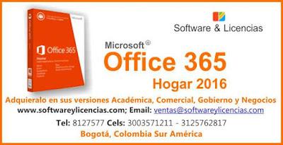 licencia office 2016 mac