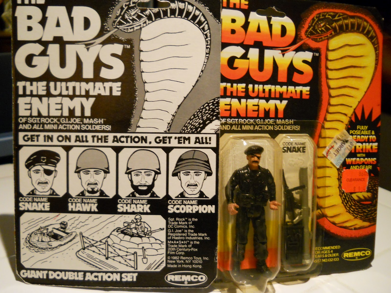 Memories Of Toymorrow Sgt Rock Needed Bad Guys So What