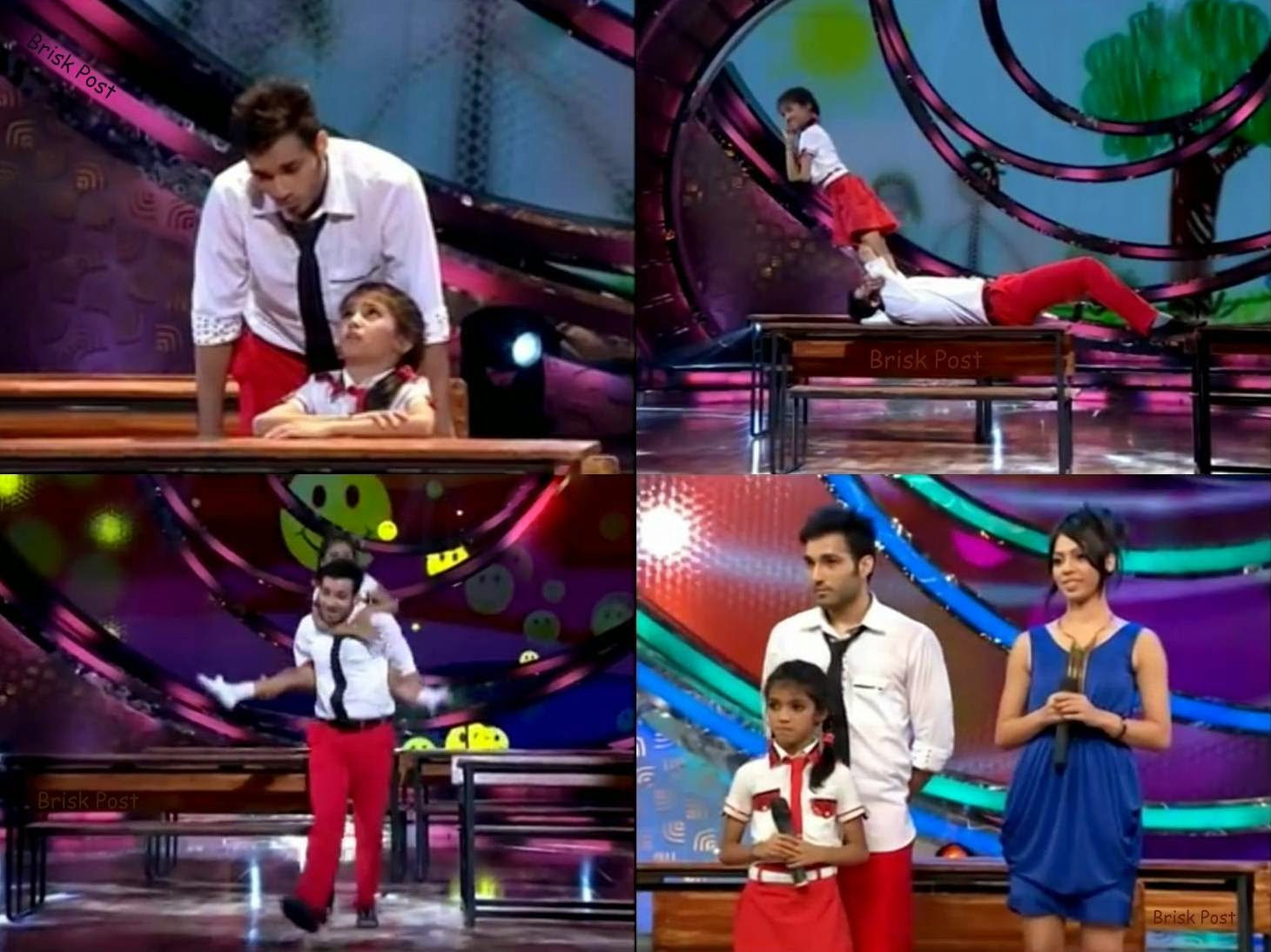 Dance performance of Ankit and Aditi on DID Little Masters Season 3