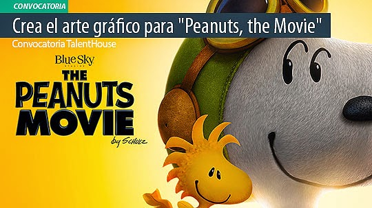 "Convocatoria. Gana $USD 1000 creando el arte gráfico para ""Peanuts, the Movie""."
