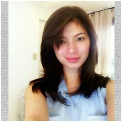 Angel Locsin has a new hairstyle. A photo of Angel sporting her now