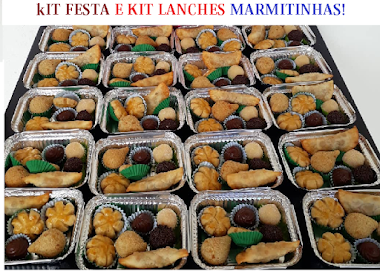 KIT LANCHES / KIT FESTA/ MARMITINHAS