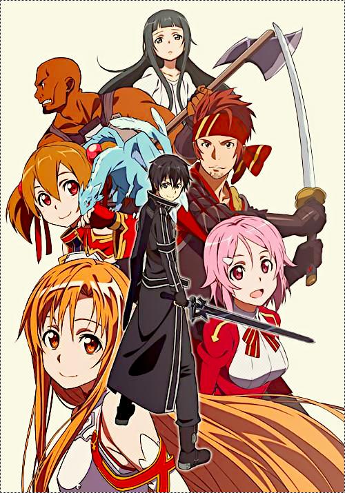 ����� ���� Sword Online ������ sword-art-online-splash.png