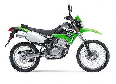 2011-Kawasaki-KLX250S-green