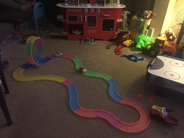 Twister tracks neon glow track review