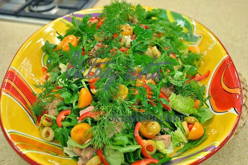 Balıklı Sağlık Salatası Tarifi