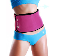 Actervate Waist Trimmer Belt – Pink #pinkwaist