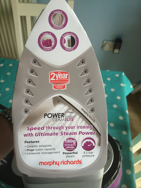 Morphy Richards Power Steam Elite Steam Generator
