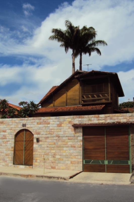 Casa De Madeira Santa Monica A Fachada Externa