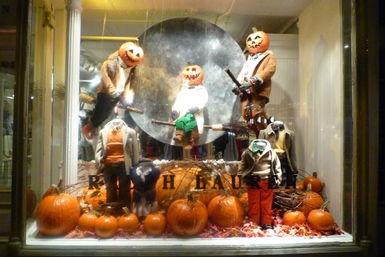 maryland pink and green halloween window displays. Black Bedroom Furniture Sets. Home Design Ideas