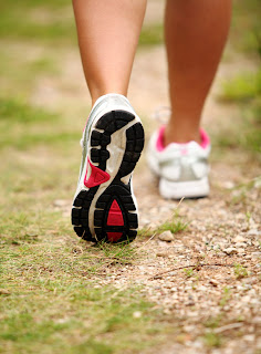 Not in the mood for a run? Try a brisk walk instead.