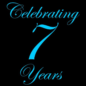 Celebrating 7 Years of Blogging!