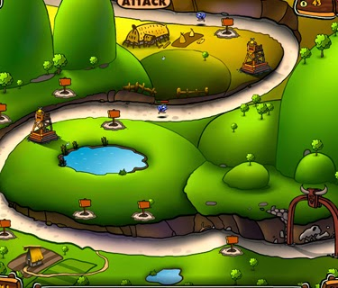 VikingLand, flash game, tower defense.