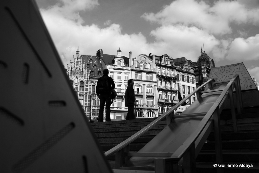 In Brussels (Belgium), by Guillermo Aldaya / PhotoConversa