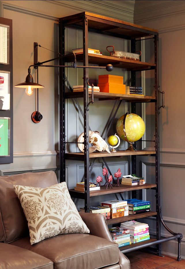 Restoration Hardware French Library Shelving