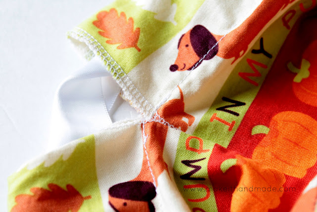The Closable Stay Open Toddler Trick or Treat Bag Tutorial By Make It Handmade