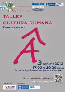 Taller cultura rumana 3 oct
