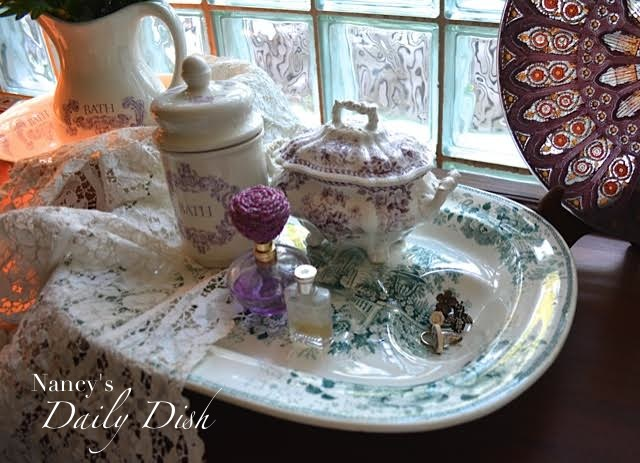 Transferware-Nancy's Daily Dish-Treasure Hunt Thursday- From My Front Porch To Yours