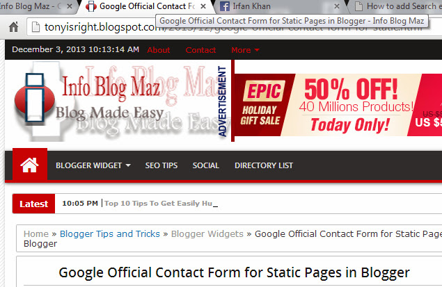 How To Add SEO Friendly Blog Post Title