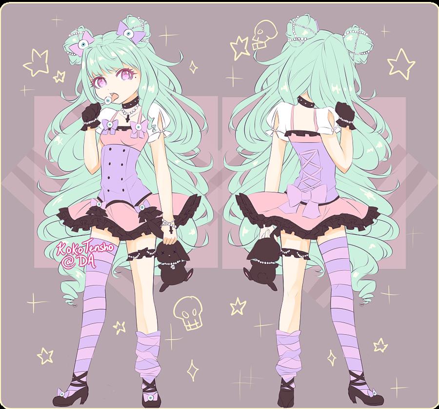 Pastel Goth On Tumblr: Lady Lollipop: Guia Pastel Goth