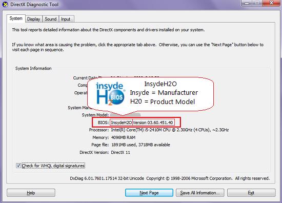 Cara Melihat Nomor Versi BIOS, Tanggal BIOS Dirilis dan BIOS Manufacturer