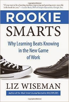 picture of liz wiseman book, rookie smarts