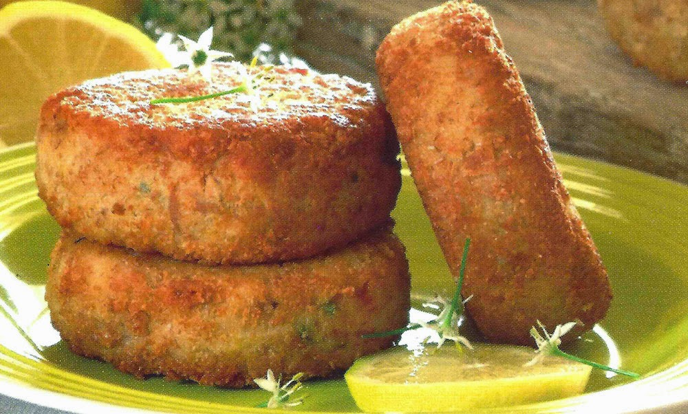 Delicious Ahi Fish Burgers With Chives Recipe — Dishmaps