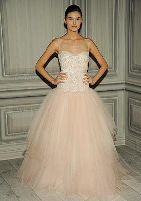 Tren Gaun Pengantin 2012 - Pink Blush