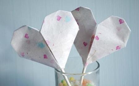 corazon origami