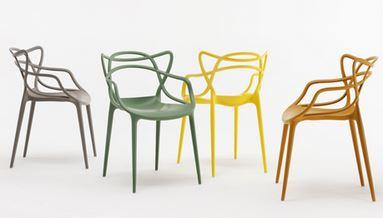 Arredo a modo mio masters di kartell tre sedie design in una - Sedia masters kartell ...
