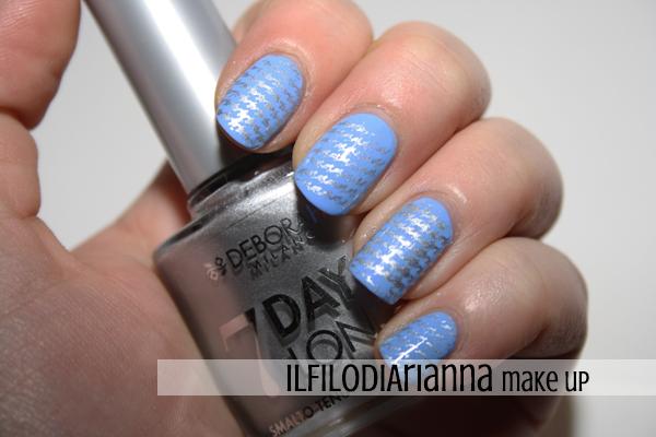 Il filo di arianna make up nail art stamping twins - Specchio ad unghia ...