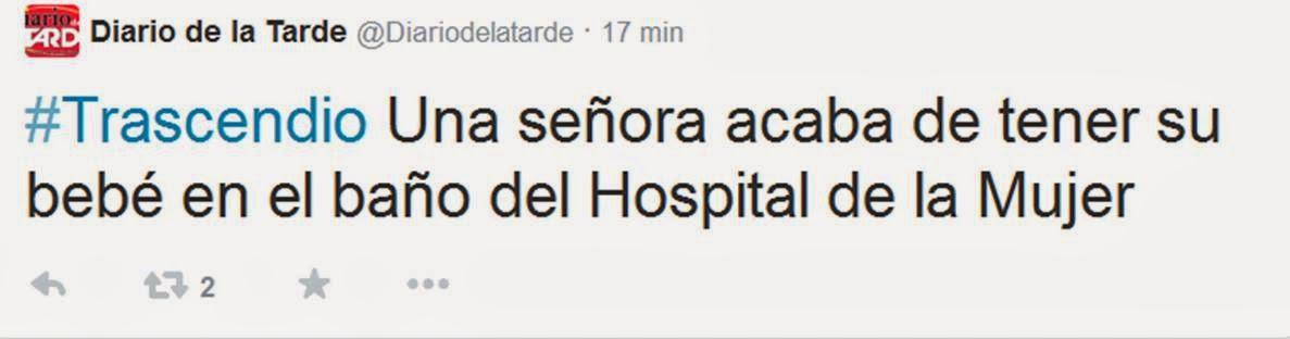 El chapucero nace beb en ba o del hospital de la mujer - Banos del hospital ...