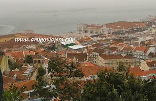 Lisboa, Castillo San Jorge, www.amigoviajero.com