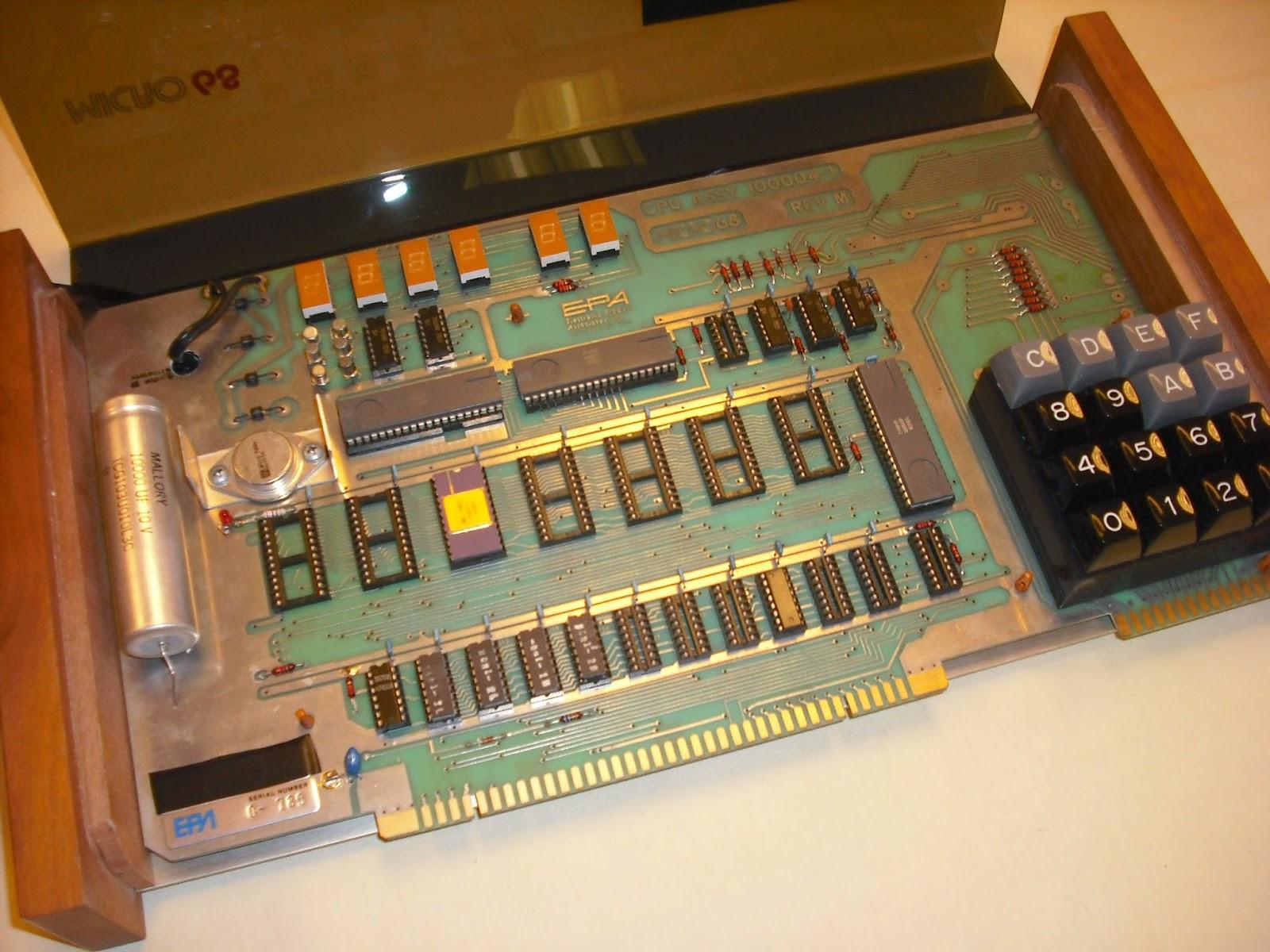 6800 microprocessor