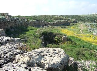 Ostmauer der Akropolis