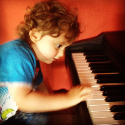 Day 218 of The 366 Project, My Little Musician