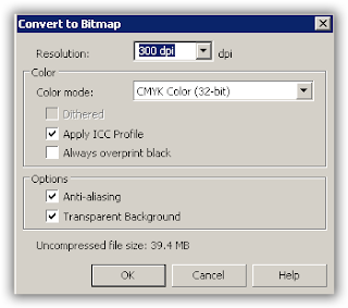 convert to bitmap