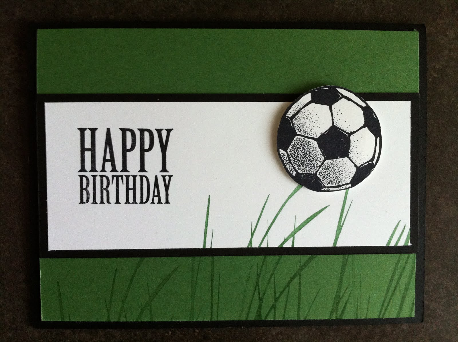 Stamp with Tammy: Soccer Birthday