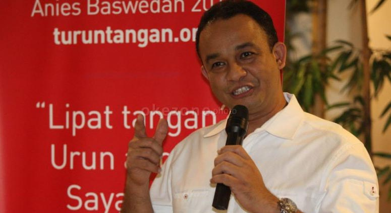 Mendikbud Anies Baswedan