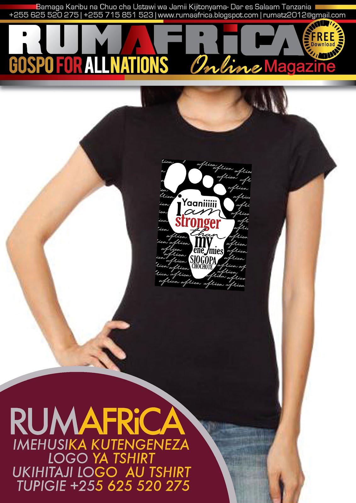 RUMAFRICA TSHIRTS