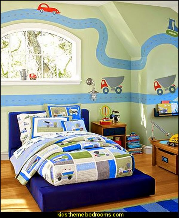 Construction Building Site   Construction Themed Bedroom Decor