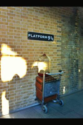 Binario 9 e tre quarti Londra Harry Potter