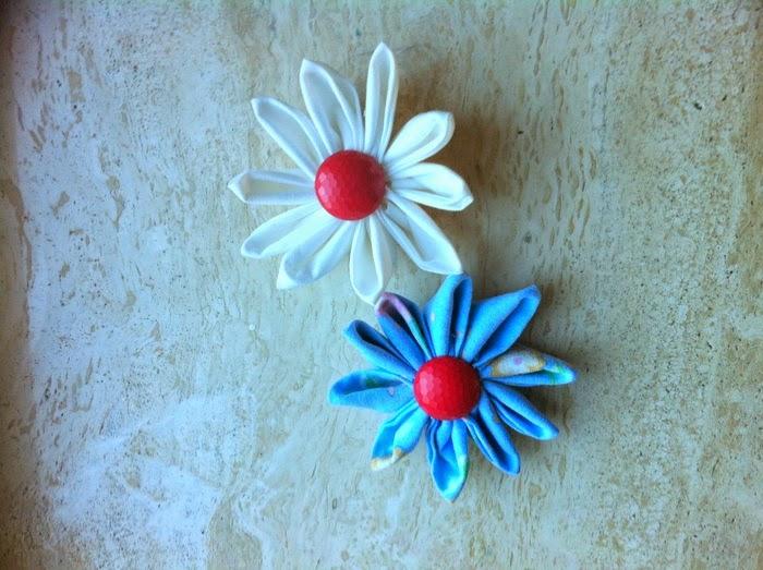 Bloemen van stof
