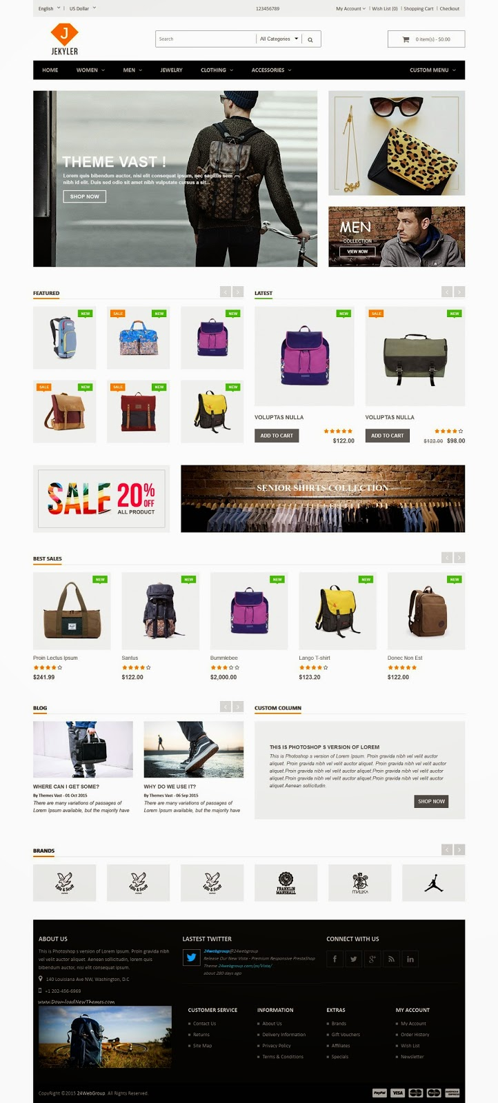 Best Multipurpose Responsive OpenCart Themes
